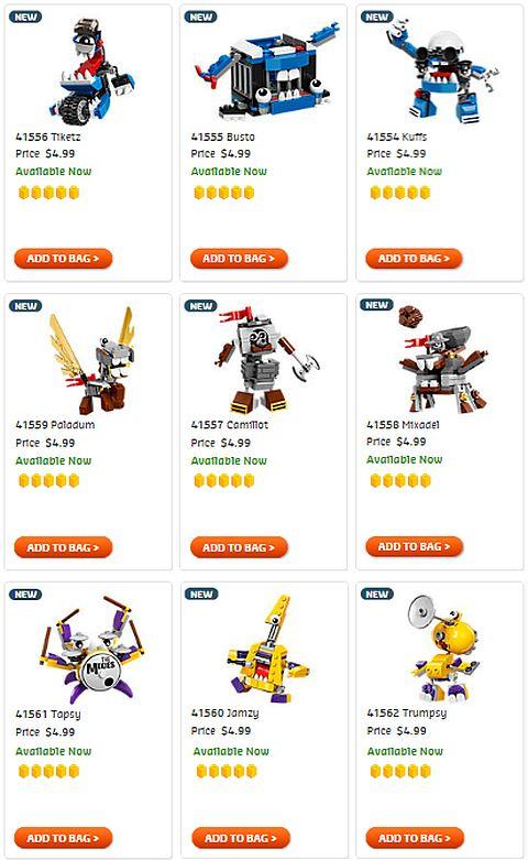 Shop LEGO Mixels Series 7