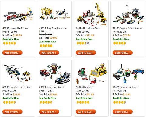 Shop LEGO Sale 2016 City