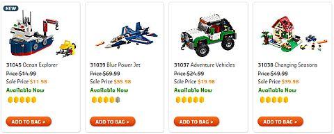 Shop LEGO Sale 2016 Creator