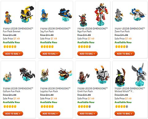 Shop LEGO Sale 2016 Dimensions