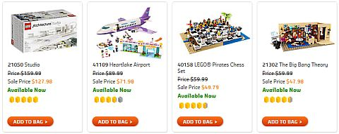 Shop LEGO Sale 2016 Other