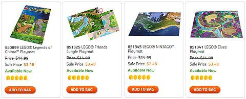 Shop LEGO Sale 2016 Playmats