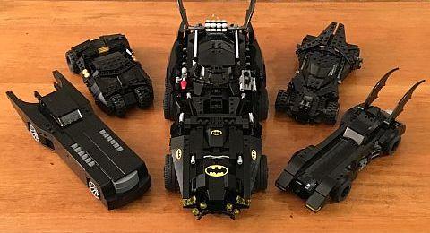 The LEGO Movie Batmobile Collection by Warvanov
