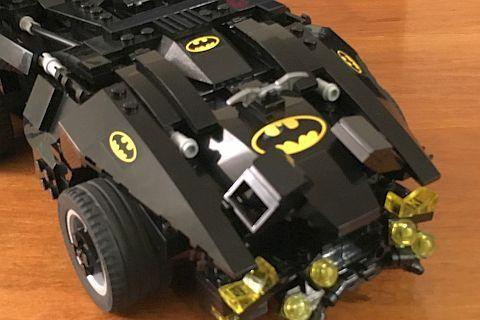 The LEGO Movie Batmobile Front by Warvanov