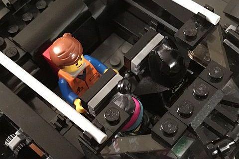 The LEGO Movie Batmobile Interior by Warvanov