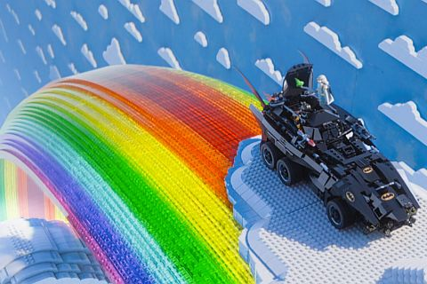 The LEGO Movie Batmobile Reference