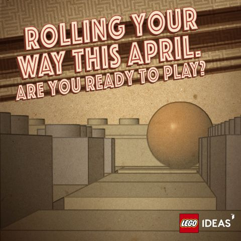 #21305 LEGO Ideas Maze Poster