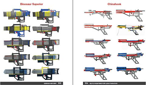 LEGO Book - Elite Weapons Evolution
