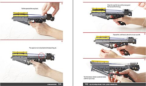 LEGO Book - Elite Weapons How it Works