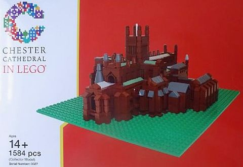 LEGO Certified Professional Chester Cathedral
