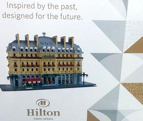 LEGO Certified Professional Hilton Paris