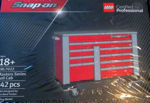 LEGO Certified Professional Tool Box