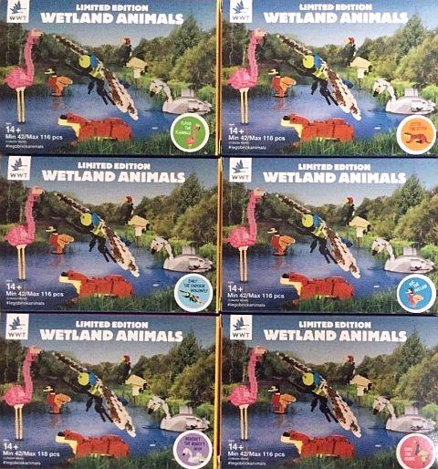 LEGO Certified Professional Wetland Animals