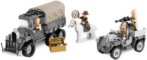 LEGO Classic Style Jeep and Truck