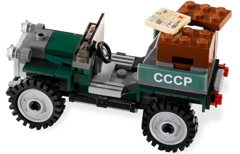 LEGO Classic Style Jeep