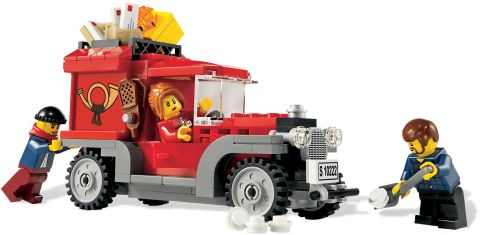 LEGO Classic Style Mail Delivery Truck