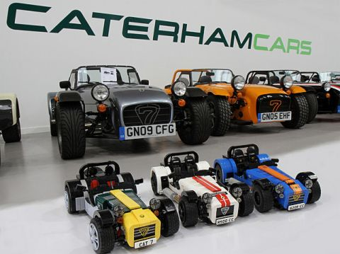 LEGO Ideas Caterham Cars