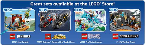 LEGO Store Calendar April 2016 - New Sets