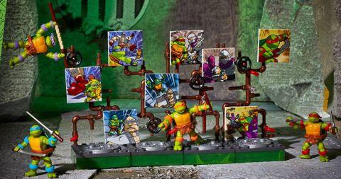LEGO and Mega Bloks Ninja Turtles 1