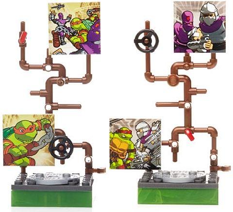 LEGO and Mega Bloks Ninja Turtles 12