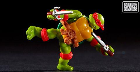 LEGO and Mega Bloks Ninja Turtles 4