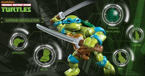 LEGO and Mega Bloks Ninja Turtles 6