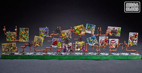 LEGO and Mega Bloks Ninja Turtles 7
