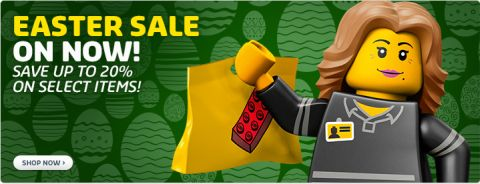 Shop LEGO Easter Sale
