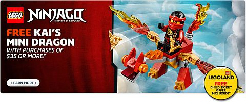 Shop LEGO Ninjago Dragon Promotion