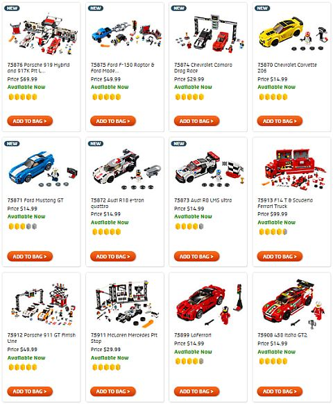 Shop LEGO Speed Champions