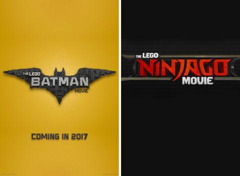 The LEGO Batman Movie and The LEGO Ninjago Movie