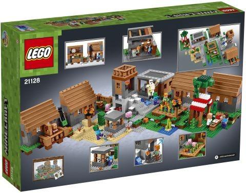 #21128 LEGO Minecraft The Village Box Back