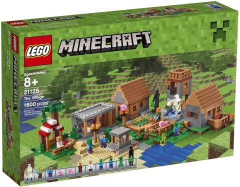 #21128 LEGO Minecraft The Village Box Front