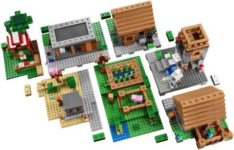 #21128 LEGO Minecraft The Village Details