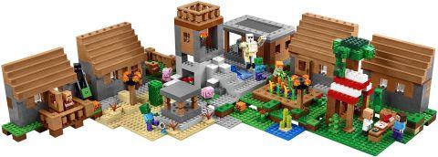 #21128 LEGO Minecraft The Village Layout