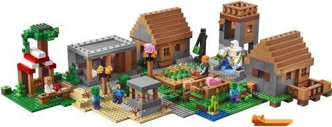 #21128 LEGO Minecraft The Village View