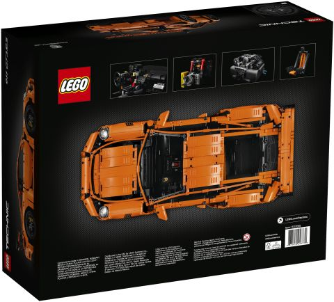 #42056 LEGO Technic Porsche Box Back
