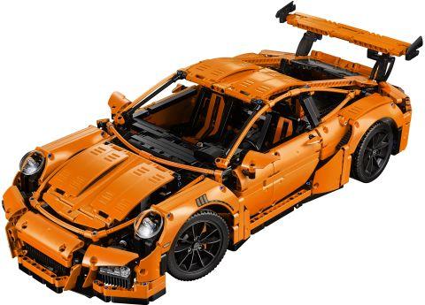 #42056 LEGO Technic Porsche Details
