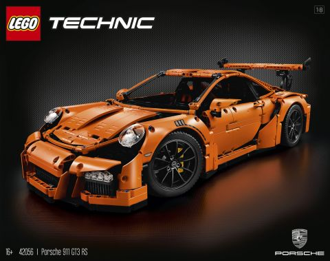 #42056 LEGO Technic Porsche