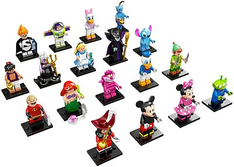 LEGO Collectible Disney Minifigures Details