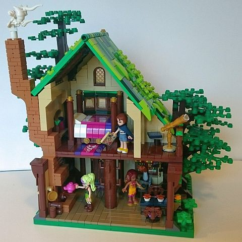 LEGO Elves Starlight Inn by Etzel87 Interior