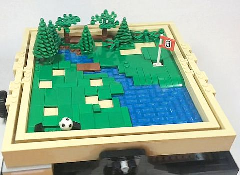 LEGO Ideas Maze Golf
