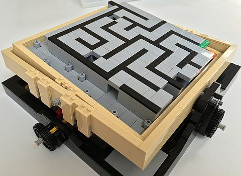 LEGO Ideas Maze Hidden