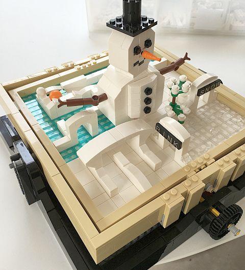 LEGO Ideas Maze Winter Maze
