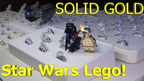 LEGO Star Wars Solid Gold Han Solo