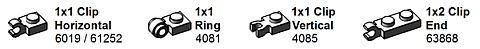 LEGO Storage Labels Details