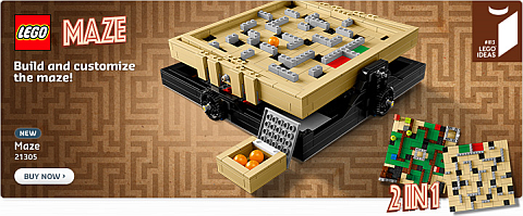 Shop LEGO Ideas Maze