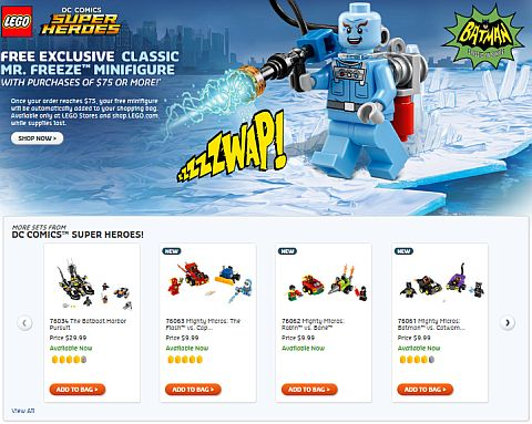 Shop LEGO Super Heroes Mr Freeze