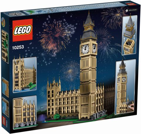#10253 LEGO Creator Big Ben Box Back