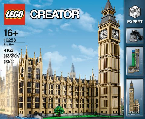 #10253 LEGO Creator Big Ben Box